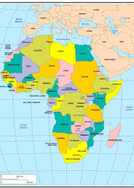 Algeria On Map Best Photos Of Labeled Map Of Africa Africa Map With Countries