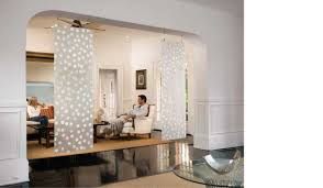 Rideau Separation Piece by Interior Room Divider Curtain Rod Curtain Room Dividers