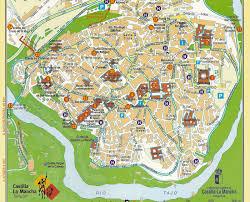 Toledo Map Mapa Monumentos Toledo Barrio Y Ciudad Pinterest Madrid