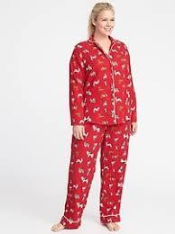 flannel pajamas navy