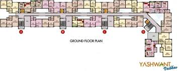540 sq ft 1 bhk 1t apartment for sale in ameya homes and infra