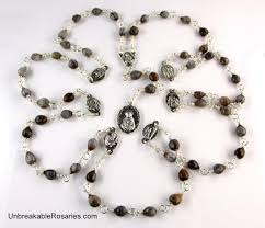 rosary of the seven sorrows unbreakable rosaries seven sorrows of passionist rosary in