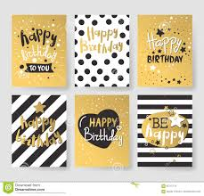graphic design birthday invitations set of beautiful birthday invitation cards decorated with colorful