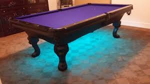 steel pool table fusiontables metal line dining pools by saluc