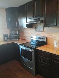 shiplap kitchen backsplash with cabinets how to make a beachside kitchen backsplash diy hometalk