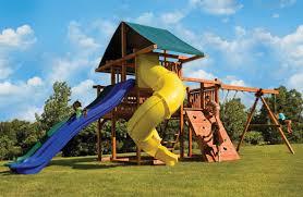 wood big backyard swing sets for children u2014 cookwithalocal home