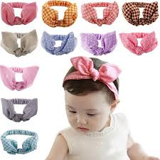 newborn hair bows newborn hair bow baby bandeau turban baby knotted headband bunny