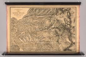 Yosemite Valley Map Sierra Nevada Adjacent To The Yosemite Valley David Rumsey