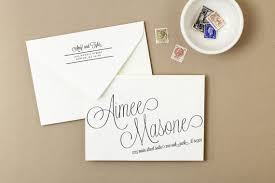 use your home printer to create stunning printed envelopes these