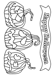 free happy halloween coloring pages to print coloringstar