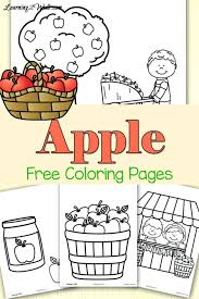 free preschool autumn coloring pages fall tree page kids printable