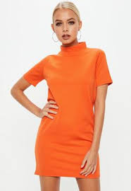orange dress orange dresses burnt orange apricot dresses missguided
