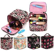 Makeup Box colorfull makeup box zipper bag cosmetic tools storage holder