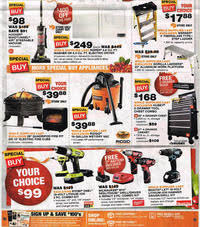 refrigerators home depot black friday home depot black friday 2014 ad scan