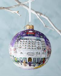 my bergdorf goodman storefront 2014 christmas ball ornament art