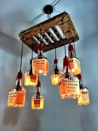 decor u0026 tips driftwood and wine bottle chandelier also hanging