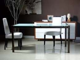 White Leather Dining Room Set Dining Room Awesome Glass Table Set For An Elegant Dining Room