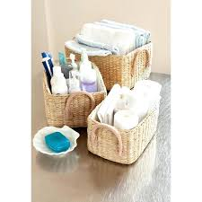 bathroom basket ideas bathroom storage basket hondaherreros