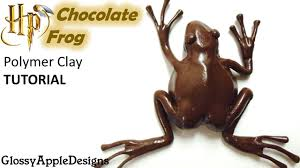 where to buy chocolate frogs polymer clay harry potter s chocolate frog tutorial