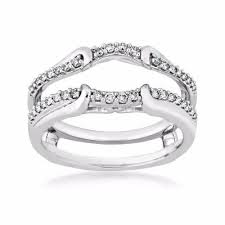 engagement ring enhancers wedding ring wraps and enhancers add a wedding ring enhancer to