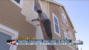 Painting Your Home Painting Your Home Spray Paint Or Brush Youtube