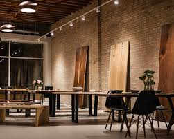 live edge table chicago what a month ooak chicago and a new showroom live edge
