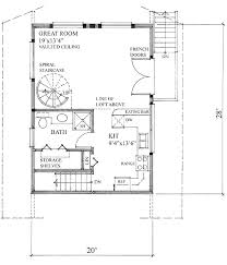 Cabin Floorplan by Cabin Style House Plan 1 Beds 1 00 Baths 840 Sq Ft Plan 118 116