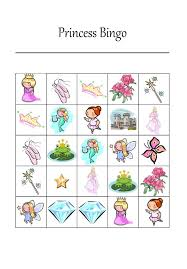 it u0027s a princess thing free printable princess bingo game party