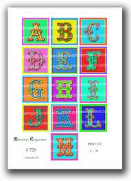 alphabet letter squares abc for toy blocks children nursery decor