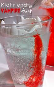 kid friendly halloween vampire drink halloween vampire