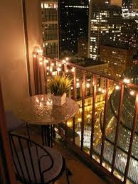 Decorating A Small Apartment Balcony by 15 Small Balcony Lighting Ideas Home Design And Interior Home
