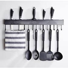 barre de cuisine deco4home barre murale ustensiles de cuisine support des ustensiles