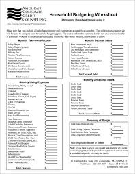 family budget template simple family budget template pdf download