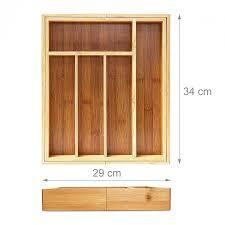 range couverts tiroir cuisine range couvert extensible rangement pour tiroir cuisine bambou nature