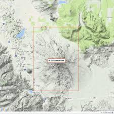 Desolation Wilderness Map Mt Shasta Wilderness U2013 Tom Harrison Maps