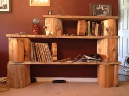 How To Make A Wood Stump End Table by I Need A Book Shelf It U0027s Nothing Fancy But I Like It Tree