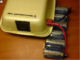 Desk Top Air Conditioner Diy Mini Desktop Air Conditioner With Ice A Burger Box And Small