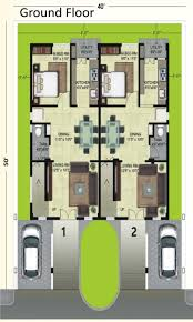 Row House Floor Plan by Glizmore