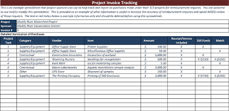 Spreadsheet For Sales Tracking by Invoice Tracking Template To Track Your Sales And Receivables