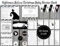 baby shower mad lib the nightmare before baby shower