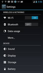 bluetooth settings android learn2develop net android tip programmatically displaying the