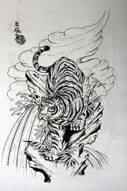 japanese style tiger tattoos japanese