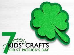 7 green st patrick u0027s day crafts for kids inhabitots