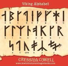 train dragon viking alphabet