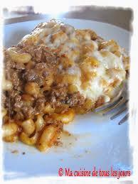 recette cuisine tous les jours ma cuisine de tous les jours macaroni à la viande onctueux plat