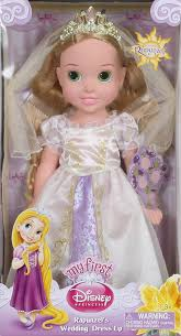 wedding dress up disney princess rapunzel s wedding dress toddler doll