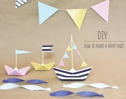 best 25 paper boats ideas on pinterest sailor party boat