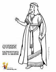 92 free coloring pages queen esther perfect queen esther