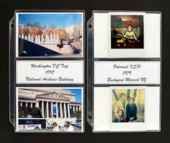 4x6 photo album inserts 3 new archival pages versatility color choice acid free security