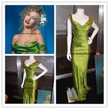 christina aguilera burlesque green dress